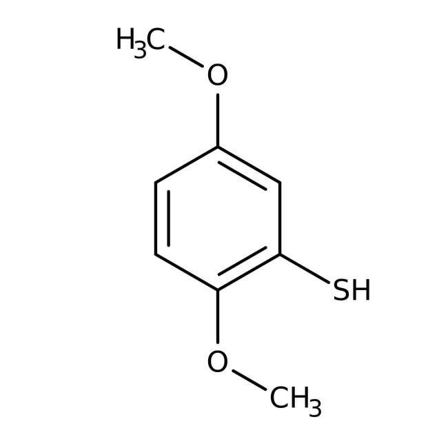 Alfa Aesar™2,5-diméthoxythiophénol, 95% 1g Alfa Aesar™2,5-diméthoxythiophénol, 95%