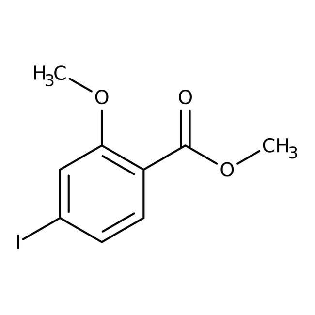 Alfa Aesar™Methyl 4-iodo-2-methoxybenzoate, 98+% 5g Alfa Aesar™Methyl 4-iodo-2-methoxybenzoate, 98+%