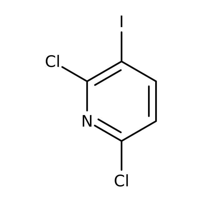 Alfa Aesar™2,6-Dichloro-3-iodopyridine, 98% 1g Alfa Aesar™2,6-Dichloro-3-iodopyridine, 98%