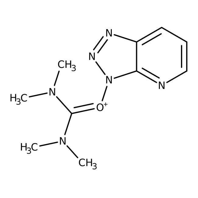 Alfa Aesar™Hexafluorophosphate d'O-(7-aza-1H-benzotriazol-1-yl)-N,N,N',N'-tétraméthyluronium, 99% 5g Alfa Aesar™Hexafluorophosphate d'O-(7-aza-1H-benzotriazol-1-yl)-N,N,N',N'-tétraméthyluronium, 99%