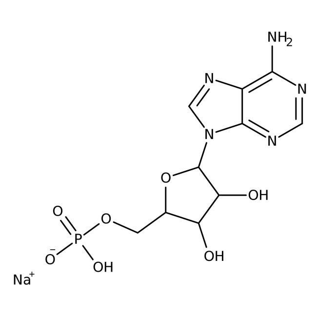 Adenosine 5'-monophosphate sodium salt hydrate, 99%, ACROS Organics™
