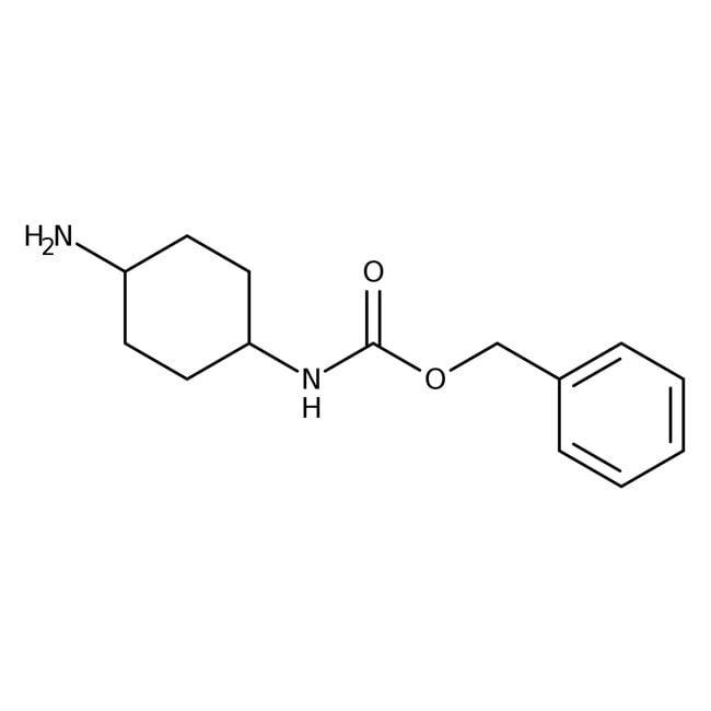 Alfa Aesar™trans-4-(Benzyloxycarbonylamino)cyclohexylamine, 97% 5g Alfa Aesar™trans-4-(Benzyloxycarbonylamino)cyclohexylamine, 97%