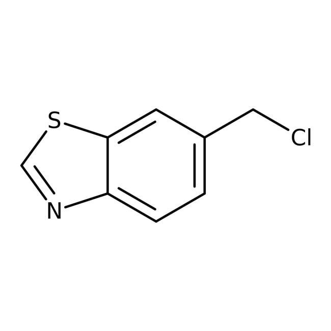 6-(chloromethyl)benzothiazole, 97%, ACROS Organics™ 1g 6-(chloromethyl)benzothiazole, 97%, ACROS Organics™