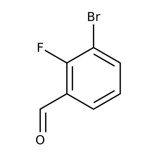 Alfa Aesar™3-Bromo-2-fluorobenzaldehyde, 97% 100g Alfa Aesar™3-Bromo-2-fluorobenzaldehyde, 97%