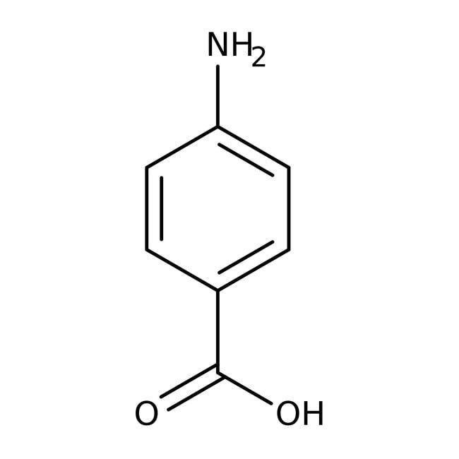 4-Aminobenzoic Acid, 99%, ACROS Organics™ 5kg; Plastic bucket 4-Aminobenzoic Acid, 99%, ACROS Organics™