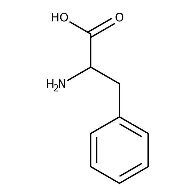 DL-Phenylalanine, 99%, ACROS Organics™ 25g; Plastic bottle DL-Phenylalanine, 99%, ACROS Organics™