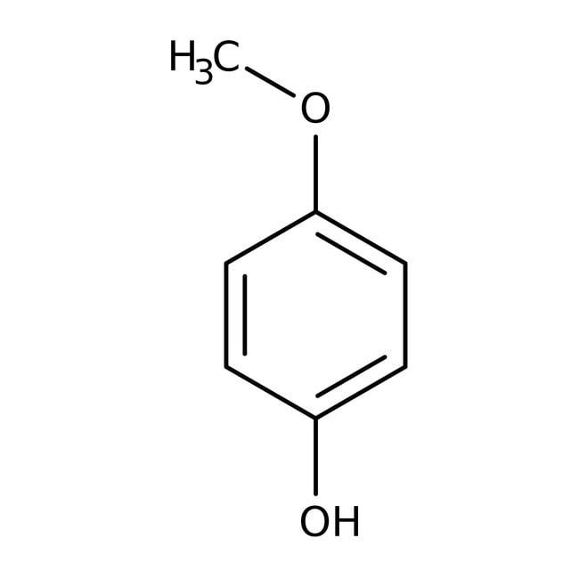 4-Methoxyphenol, 99%, ACROS Organics™