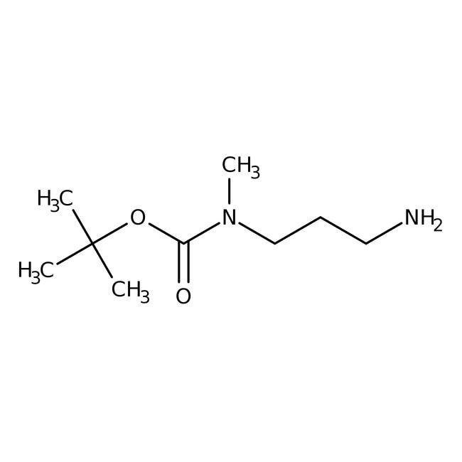 Alfa Aesar™N-Boc-N-Methyl-1,3-Diaminopropan, 95% 1g Alfa Aesar™N-Boc-N-Methyl-1,3-Diaminopropan, 95%