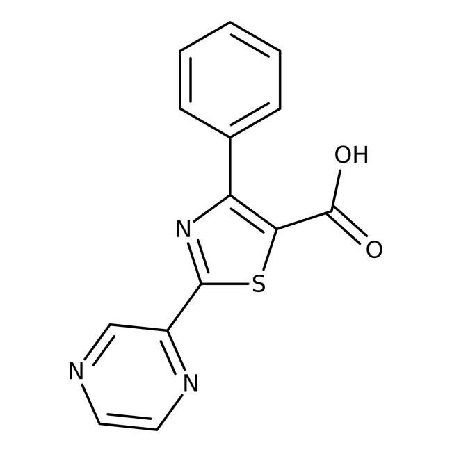 Alfa Aesar™4-Phenyl-2-(2-pyrazinyl)thiazole-5-carboxylic acid, 97%