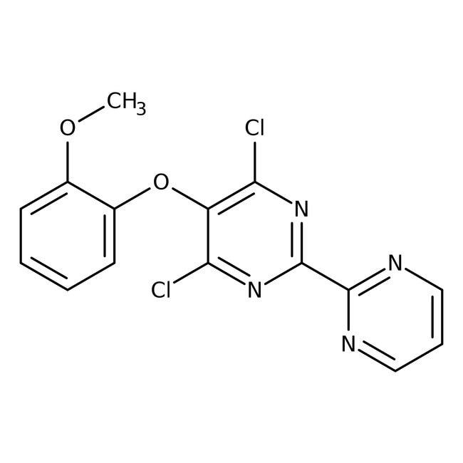 Alfa Aesar™4,6-Dichloro-5-(2-methoxyphenoxy)-2,2'-bipyrimidine, 95% 250mg Alfa Aesar™4,6-Dichloro-5-(2-methoxyphenoxy)-2,2'-bipyrimidine, 95%
