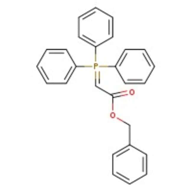 Benzyl (triphenylphosphoranylidene)acetate, 97%, ACROS Organics™ 5g; Glass bottle Benzyl (triphenylphosphoranylidene)acetate, 97%, ACROS Organics™
