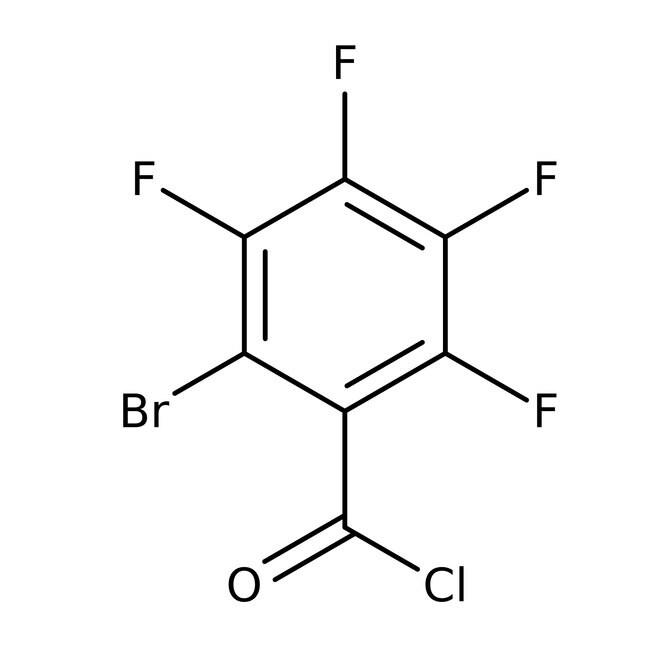 Alfa Aesar™2-Brom-3,4,5,6-tetrafluorbenzoylchlorid, 97% 25g Alfa Aesar™2-Brom-3,4,5,6-tetrafluorbenzoylchlorid, 97%