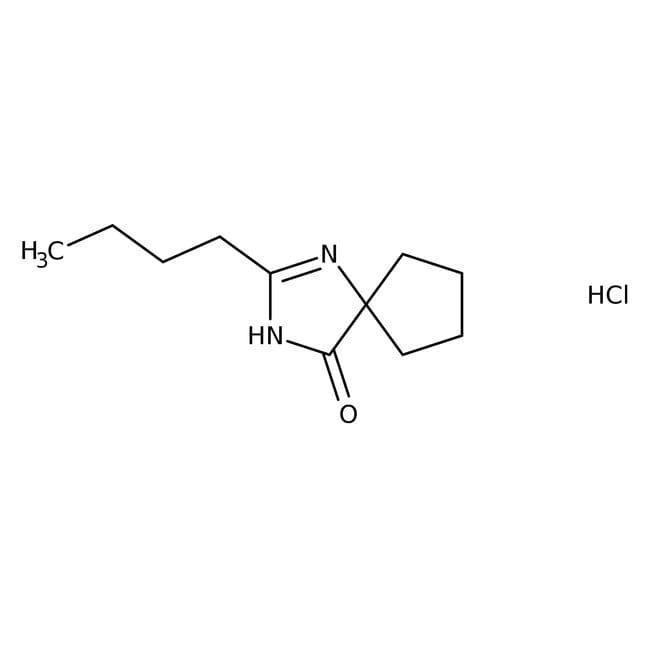 2-Butyl-1,3-diazaspiro[4.4]non-1-en-4-one Hydrochloride 98.0 %, TCI America
