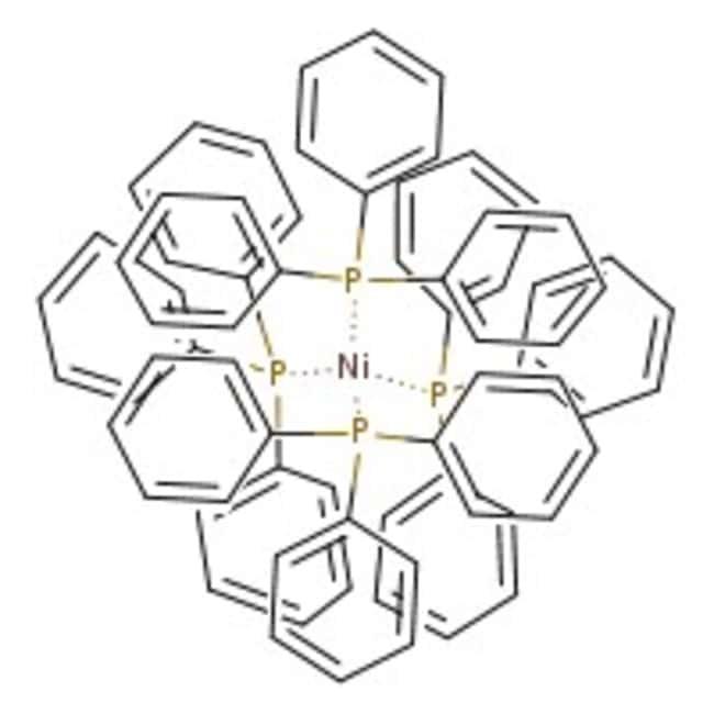 Tetrakis(triphenylphosphin)nickel(0), 95%, ACROS Organics™ 1 g-Glasflasche Tetrakis(triphenylphosphin)nickel(0), 95%, ACROS Organics™