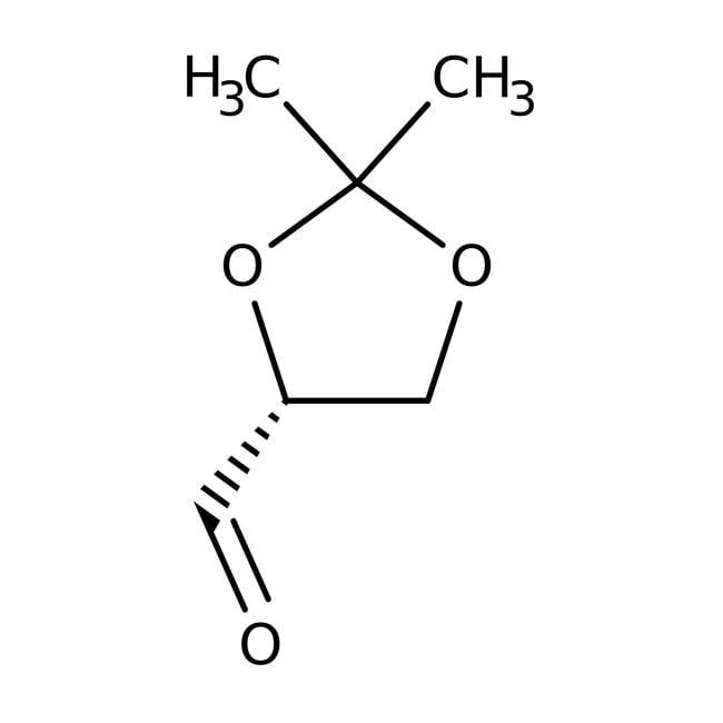 (R)-(+)-2,2-Dimethyl-1,3-dioxolane-4-carboxaldehyde, 97%, ACROS Organics