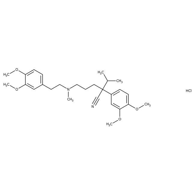 Verapamil Hydrochloride, USP, 98-102%, Spectrum