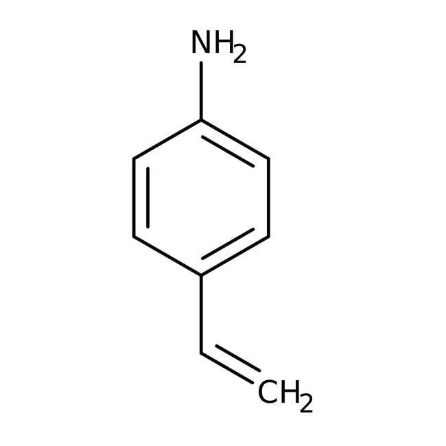 4-Vinylaniline, 90%, technical, stabilized, ACROS Organics™