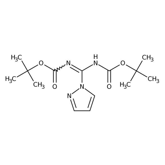 Alfa Aesar™N,N'-Di-Boc-1H-pyrazole-1-carboxamidine, 98+%