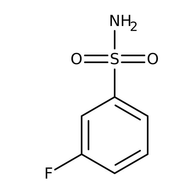 Alfa Aesar™3-Fluorobenzenesulfonamide, 97% 250mg Alfa Aesar™3-Fluorobenzenesulfonamide, 97%