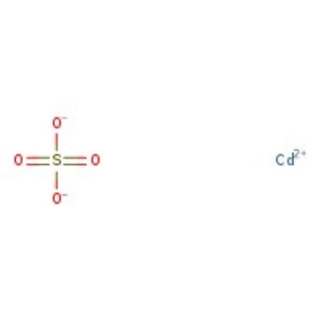 Alfa Aesar™Cadmium sulfate hydrate, 98% 2500g Alfa Aesar™Cadmium sulfate hydrate, 98%