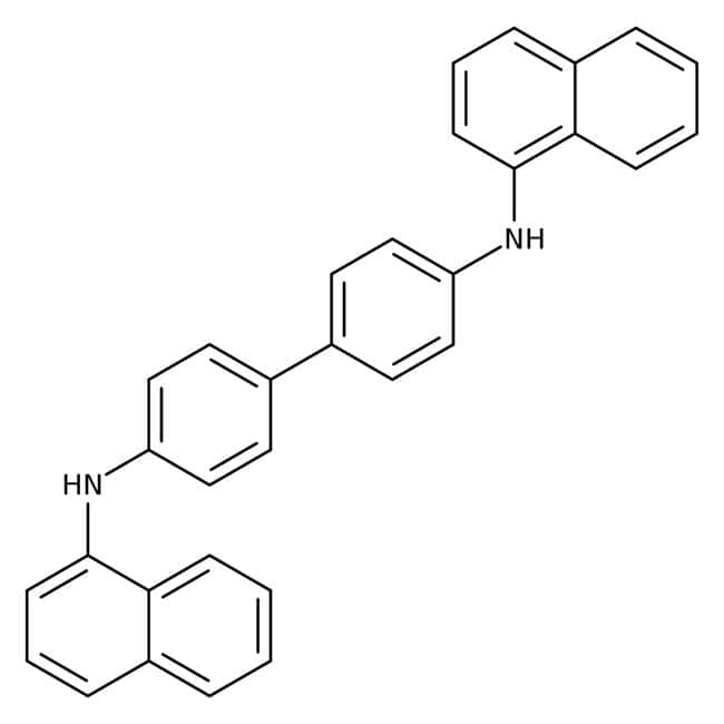 Alfa Aesar™N,N'-Di(1-naphthyl)benzidine, 98% 1g Alfa Aesar™N,N'-Di(1-naphthyl)benzidine, 98%