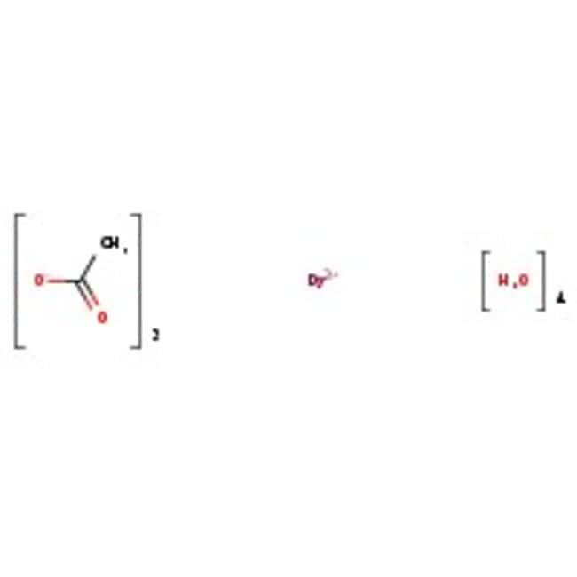 Alfa Aesar™Dysprosium(III) acetate tetrahydrate, REacton™, 99.99% (REO) 50g Alfa Aesar™Dysprosium(III) acetate tetrahydrate, REacton™, 99.99% (REO)