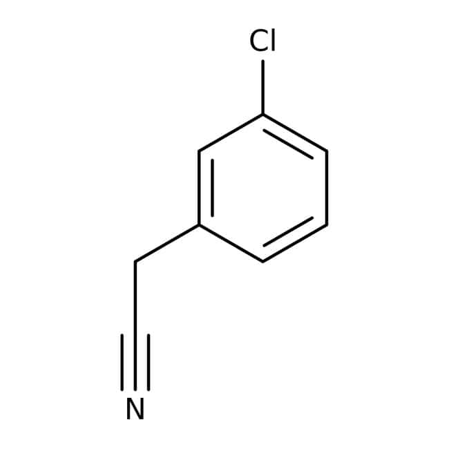 Alfa Aesar™3-Chlorophenylacetonitrile, 99% 25g Alfa Aesar™3-Chlorophenylacetonitrile, 99%