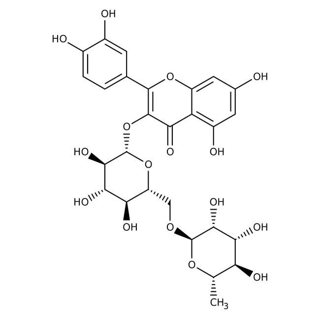 Rutin, 97+%, ACROS Organics™ 5g; Glass bottle Rutin, 97+%, ACROS Organics™