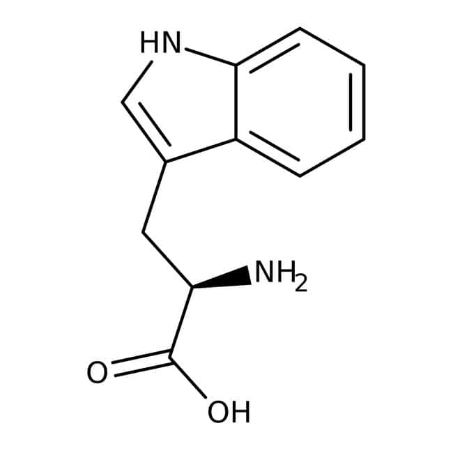 D(+)-Tryptophan, 99%, ACROS Organics™ 5 g-Glasflasche D(+)-Tryptophan, 99%, ACROS Organics™