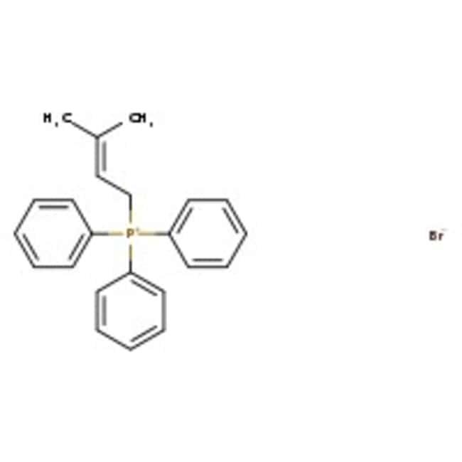 Alfa Aesar™(3,3-Dimethylallyl)triphenylphosphonium bromide, 98+% 5g Alfa Aesar™(3,3-Dimethylallyl)triphenylphosphonium bromide, 98+%