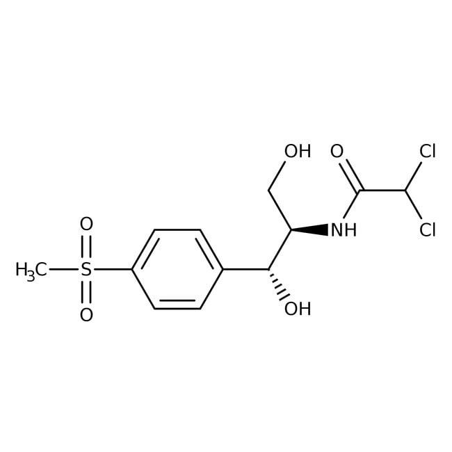 Thiamphenicol, 98%, ACROS Organics™  Thiamphenicol, 98%, ACROS Organics™