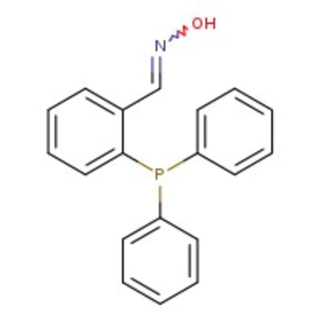 Alfa Aesar™2-(Diphenylphosphino)benzaldehyde oxime, 95% 1g Alfa Aesar™2-(Diphenylphosphino)benzaldehyde oxime, 95%