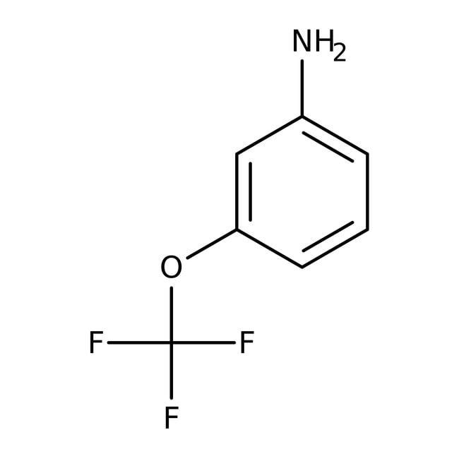 3-(Trifluormethoxy)anilin, 97%, ACROS Organics™ 500mg 3-(Trifluormethoxy)anilin, 97%, ACROS Organics™