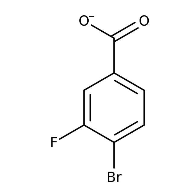 Alfa Aesar  4-Bromo-3-fluorobenzoic acid, 98+%