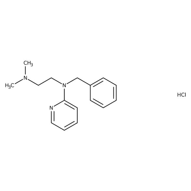 Tripelennamine Hydrochloride, USP, 98-102%, Spectrum
