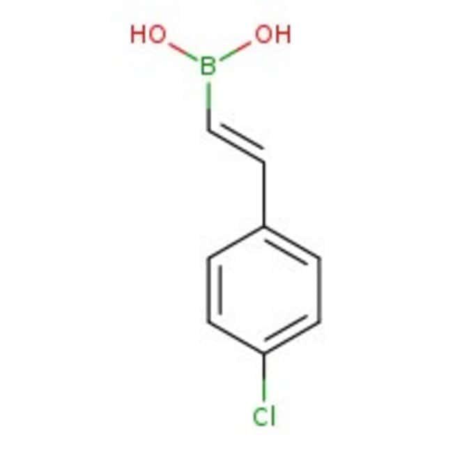 trans-2-(4-chlorophenyl)vinylboronic acid, 97%, ACROS Organics