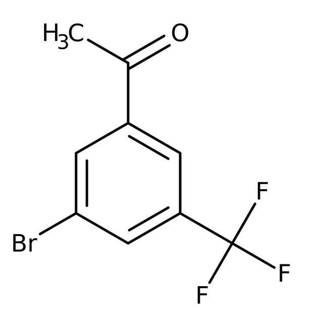 Alfa Aesar™3'-Bromo-5'-(trifluoromethyl)acetophenone, 97% 1g prodotti trovati