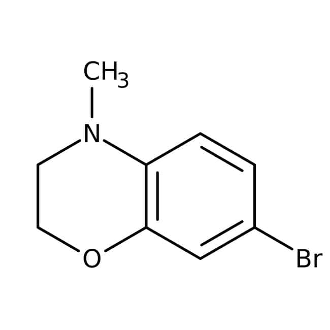 7-Bromo-4-methyl-3,4-dihydro-2H-1,4-benzoxazine, 95%, Maybridge™