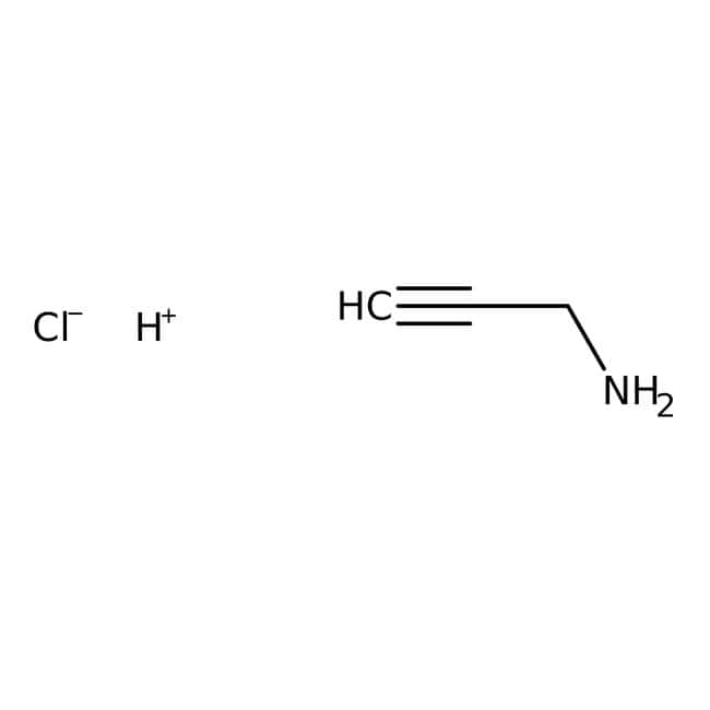 Alfa Aesar™Propargylamine hydrochloride, 95% 5g Alfa Aesar™Propargylamine hydrochloride, 95%
