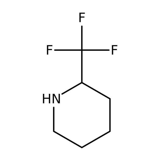 (S)-2-(Trifluoromethyl)piperidine, 97%, ACROS Organics™ 1g (S)-2-(Trifluoromethyl)piperidine, 97%, ACROS Organics™