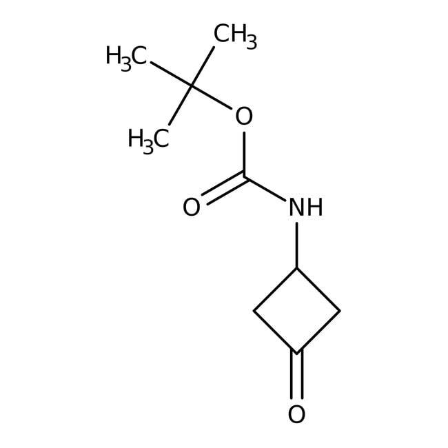 tert-Butyl (3-oxocyclobutyl)carbamate, 95%, ACROS Organics™ 1g tert-Butyl (3-oxocyclobutyl)carbamate, 95%, ACROS Organics™