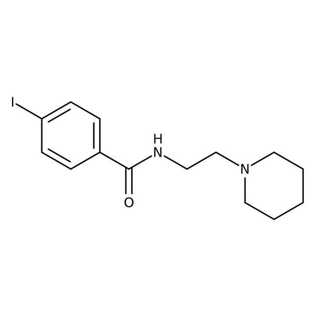 N-[2-(Piperidinylamino)ethyl]-4-iodobenzamide, Tocris Bioscience™ 50mg N-[2-(Piperidinylamino)ethyl]-4-iodobenzamide, Tocris Bioscience™