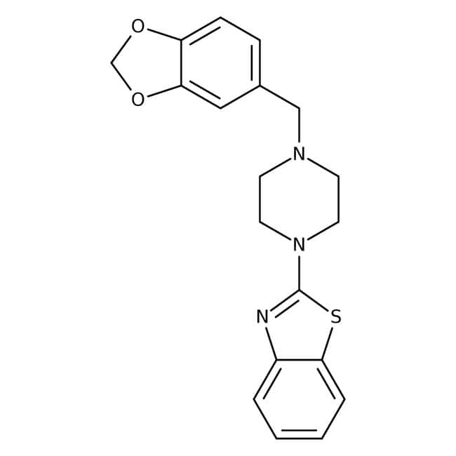 2-[1-(4-Piperonyl)piperazinyl]benzothiazole, Tocris Bioscience