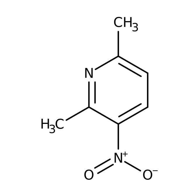 3-Nitro-2,6-lutidine, 99%, ACROS Organics™