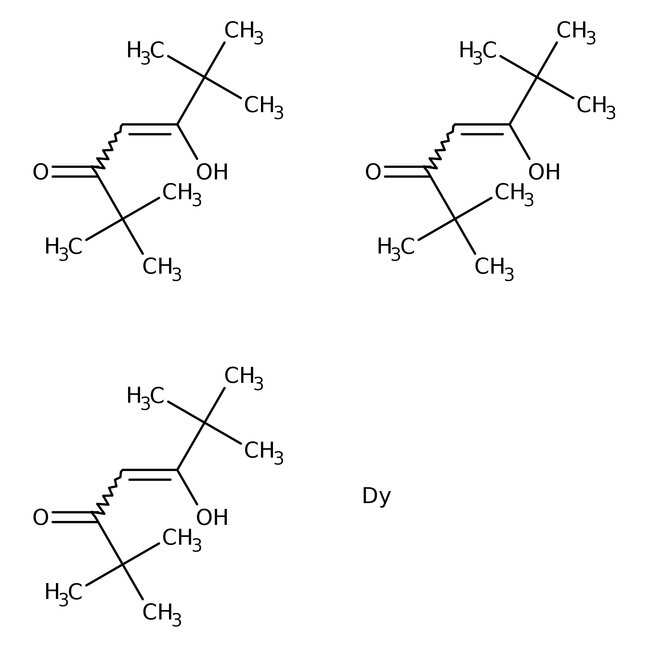 Alfa Aesar  Tris(2,2,6,6-tetramethyl-3,5-heptanedionato)dysprosium(III), 98%
