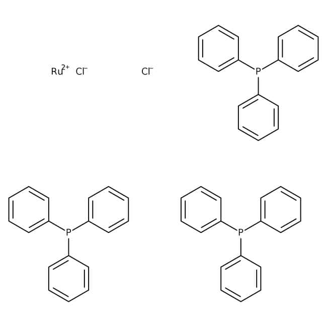 Tris(triphenylphosphine)ruthenium(II) chloride, 98%, ACROS Organics
