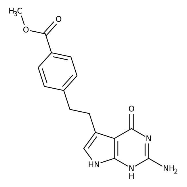 Methyl 4-[2-(2-Amino-4,7-dihydro-4-oxo-3H-pyrrolo[2,3-d]pyrimidin-5-yl)ethyl]benzoate 98.0+%, TCI America™