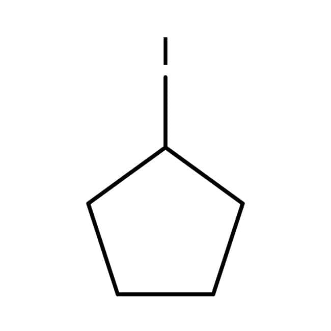 Cyclopentyl iodide, 98%, stabilized over copper, ACROS Organics