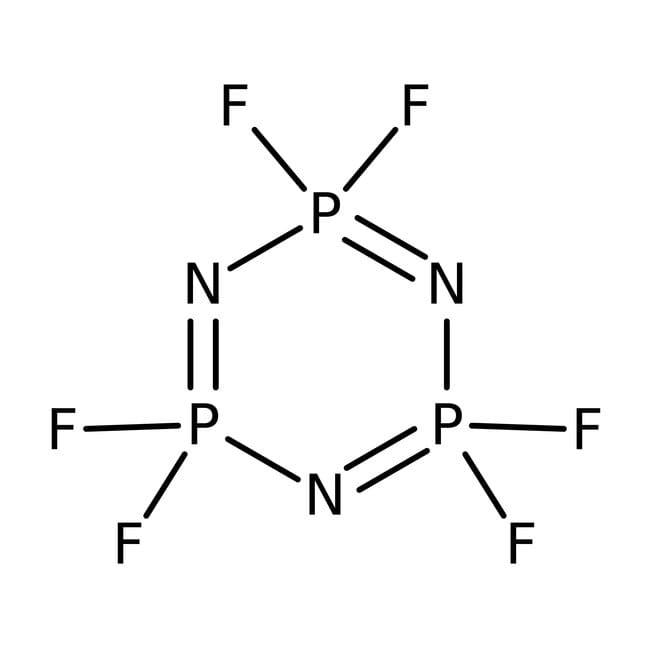 Hexafluorocyclotriphosphazene 97.0+%, TCI America™