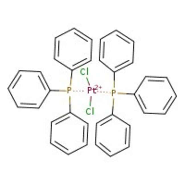 Alfa Aesar™cis-Dichlorobis(triphenylphosphine)platinum(II), Pt 24.2% min 250mg Alfa Aesar™cis-Dichlorobis(triphenylphosphine)platinum(II), Pt 24.2% min